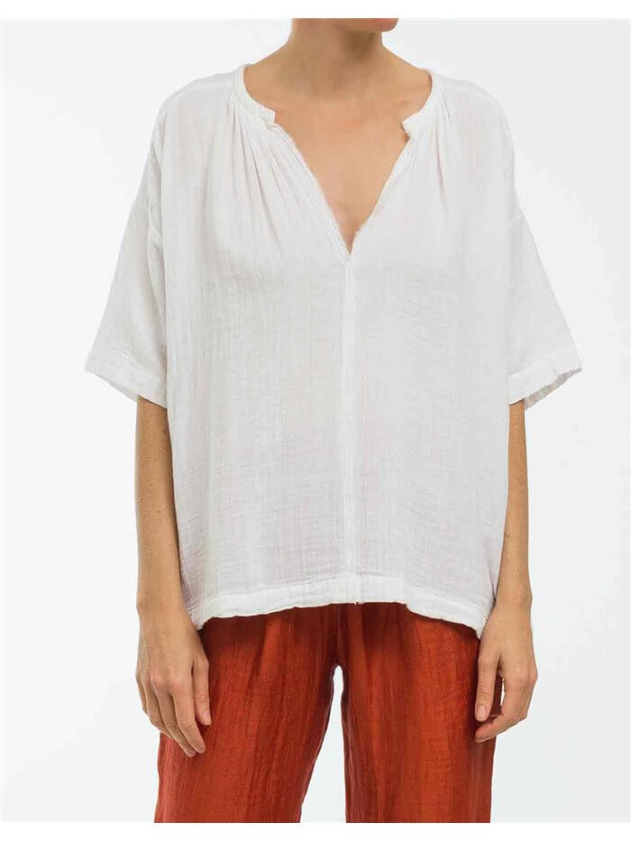 blusa de algodon