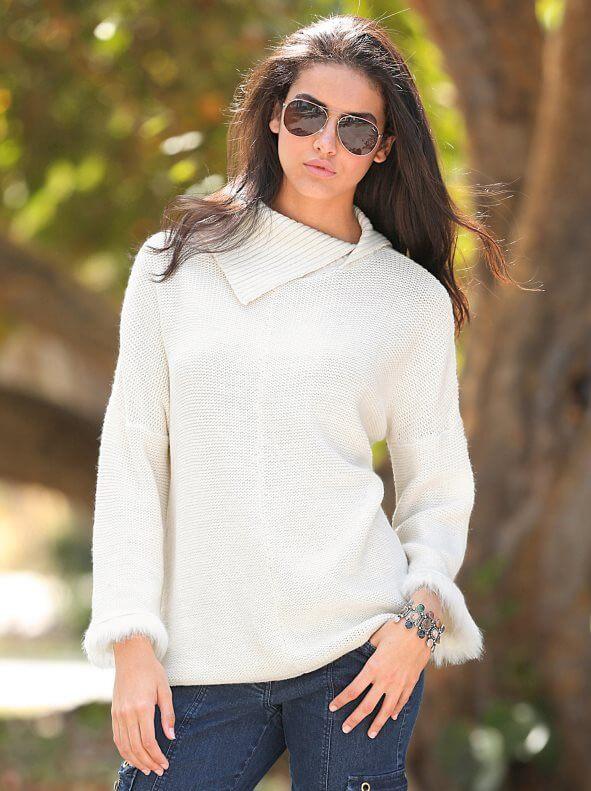 blusa de jersey